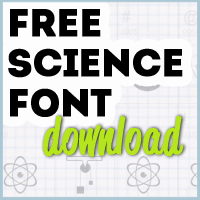 Free Science Font Button copy