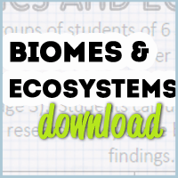 Science Freebie: Biomes and Ecosystems – Mrs. Harris Teaches…