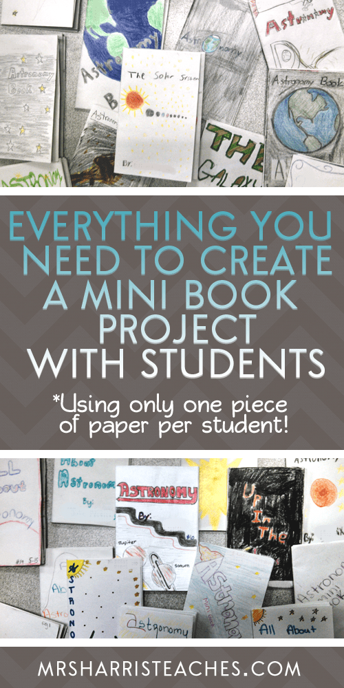 How To Make A Bookend : How to create a mini book project for students mrs