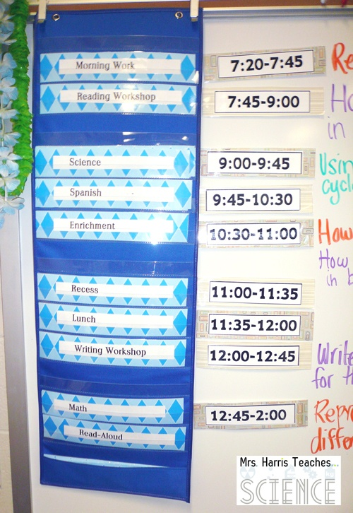 Mrs-Harris-Teaches-Schedule